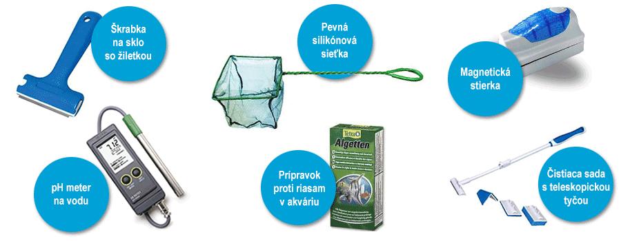 pomocky na cistenie ako vycistit akvarium